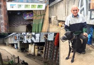 Bezdomovec Václav Šíma (66) zachraňuje životy lidem, kteří skončí ve Vltavě. Na svůj život si nestěžuje.