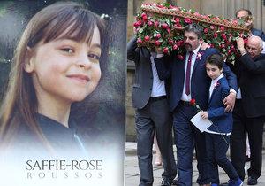 Pohřeb osmileté Saffie, nejmladší oběti teroru v Manchesteru