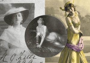 Mata Hari neměla nudný život.