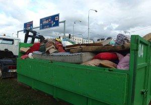 V Praze-Kolovratech přistaví kontejnery na velkoobjemný odpad, bioodpad či nebezpečný odpad. (ilustrační foto)