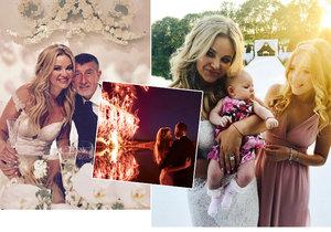 13 fotek, které otřásly Čapím hnízdem: Monika ukázala nej momentky ze svatby.