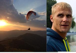 Paraglidista Tomáš zemřel při soutěži v Makedonii.