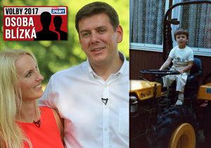 Osoba blízká: Jan Skopeček se snoubenkou
