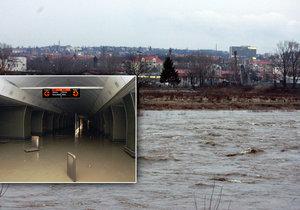 Metro má být podle informací DPP lépe připraveno na povodeň podobnou jako v roce 2002.