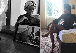 Fotografie, které Františku ukazují tak, jak ji neznáte.
