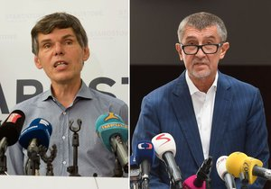 Dalibor Dědek a Andrej Babiš. V některých ohledech jsou si velmi podobní.