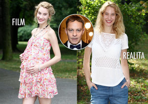 Renčova snoubenka Marie Kružíková je v pátém měsíci těhotenství, ale není to vůbec vidět.