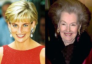 Princezna Diana podle šokujícího dokumentu nenáviděla macechu! Shodila ji ze schodů?