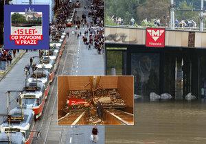 Velká voda zaplavila i pražské metro.