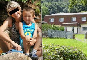 Lucie se synem přežila masakr v Liberci: 3 týdny po smrti táty a babičky šel Davídek poprvé do školy
