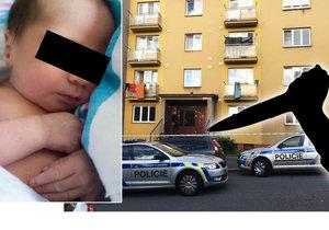 V tomto domě v Plzni v neděli porodila žena (20) holčičku, kterou pobodala. Miminko zemřelo ještě téhož večera.