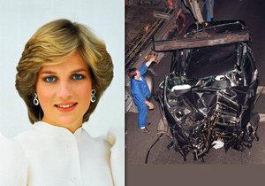 Chci vystavit vrak, v němž se zabila princezna Diana (†36), šokuje majitel limuzíny.