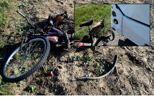 Místo, na kterém zemřel mladý cyklista Marek.