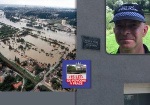 Strážník Roman o povodních v Praze: Nejhorší bylo přesvědčit lidi, aby opustili domovy