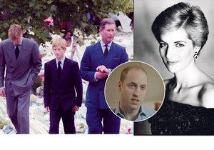 Princ William věří, že Diana mu posmrtně pomáhala na vlastním pohřbu!
