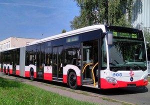 Na lince 119 na letiště bude jezdit autobus dlouhý 21 metrů.
