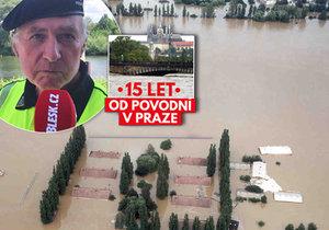 O povodních v roce 2002 promluvil Antonín Hruška.