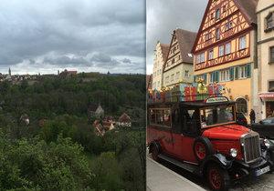 Bavorský Rotheburg je plný středověkých památek a dalších zajímavostí.