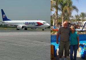 Ve chvíli, kdy se Miroslav Sláma nechal s manželkou vyfotit na dovolené, ještě netušil, co ho čeká cestou zpět.