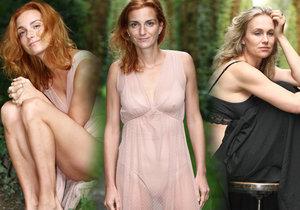 Vyhublá Míša Maurerová s Vlastinou Svátkovou podporují ženy v boji proti anorexii a bulimii.