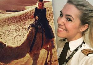 Krásná pilotka Eva Claire Marseille z Nizozemska a její dobrodružství