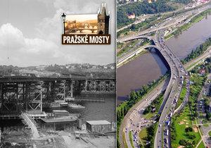 Barrandovský most je nejvytíženější podobnou stavbou v Praze.