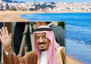 Saúdský král Salmán bin Abd al-Azíz utratil za svou letní dovolenou přes dvě miliardy korun!