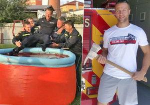 Nejlepšího hasiče světa hodili do vody! Petr (33) porazil v Los Angeles úplně všechny