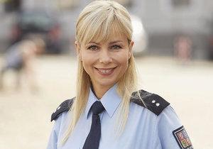 Jaroslava Stránská jako Lucie Krásenská v seriálu Policie Modrava