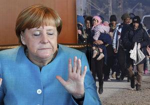 """Merkelová si stále stojí za přerozdělováním migrantů: """"Bude to vyžadovat čas a trpělivost, ale uspějeme."""""""