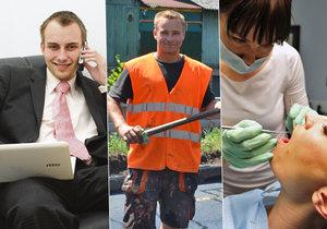 Češi hromadně přemýšlejí o změně práce, chtějí změnu i vyšší plat.