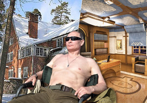 Putinova nová »dača«!