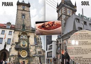 V jihokorejském Soulu mají věrnou kopii Staroměstské radnice, orloje a věže.