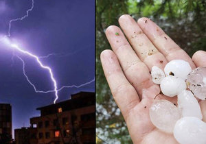 Na Česko opět míří bouřky, doprovodí je lijáky i krupobití