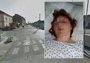 Hanku srazil motorkář a ujel: Pomozte ho najít, prosí rodina. Na fotce obec Pečky.