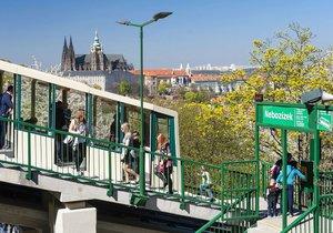 Lanovka na Petřín a celý park bude mít novou wifi, projekt je však údajně předražený.
