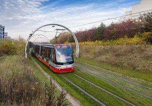 Na Barrandově se hloubí jáma, pomůže při údržbě tramvají během rekonstrukce.