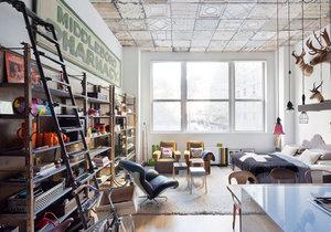 Útulné bydlení vzniklo díky nábytku a dekoracím z druhé ruky