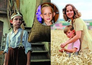 Lojza Grec je hvězdou filmu Po strništi bos.