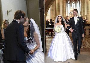 Svatba Petra Poláčka byla plná lásky.