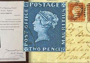 Česká pošta vydá známku, která bude poctou historickému Modrému Mauritiu.