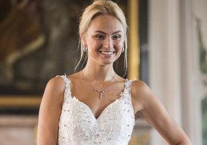 Tereza Fajksová ve svatebních šatech za 8 milionů korun.