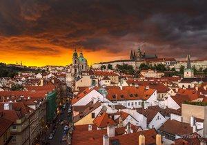 Z těchto fotografií se tají dech. Červánky vyfotil čtenář Blesku Peter Čech.