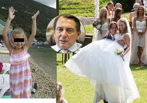 Na svatbě Paroubkova syna chyběla malá Margarita.