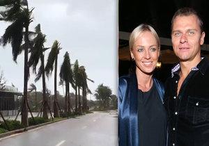 Belohorcová v Miami nedýchala strachy, hurikán Irma ji nakonec minul!