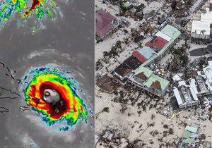 Takhle řádil hurikán Irma!