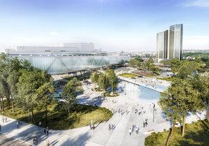 Takhle bude vypadat nová hala u Kongresového centra v Praze.