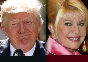"""Ivana Trumpová tvrdě: """"Donald by měl místo prezidentování radši hrát golf"""""""