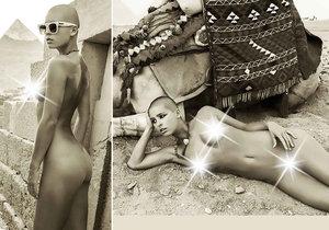 Belgická modelka Marisa Papen skončila v kriminále, za nahé fotky u egyptských památek.