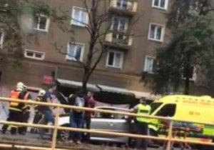 Nehoda skončila úmrtím seniorky.